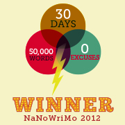 NaNo Winner Badge