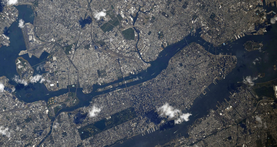 NYC 2019 from space