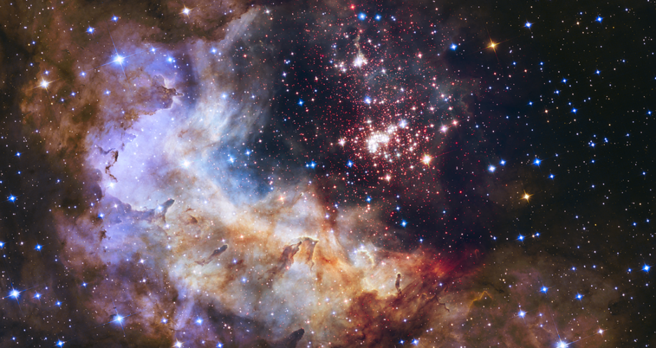Hubble Telescope captures star fireworks